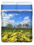 Yellow Carpet Duvet Cover