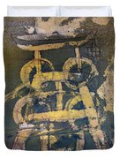 Yellow Colliery Duvet Cover