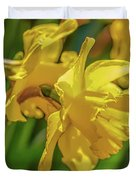 Yellow Daffodil May 2016. Duvet Cover