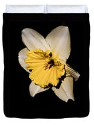 Yellow Daffodil Duvet Cover