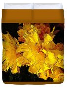 Yellow Daffodils 4 Duvet Cover