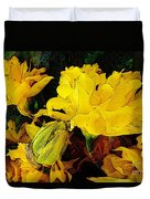 Yellow Daffodils 6 Duvet Cover