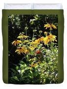 Yellow Daisies Duvet Cover