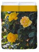 Yellow Daze Duvet Cover