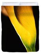 Yellow Essence Duvet Cover
