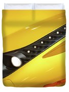 Yellow Ferrari 2013 Duvet Cover