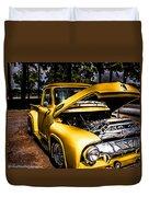 Yellow Fever  Duvet Cover