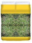 Yellow Flower Mandala 2 Duvet Cover
