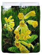 Yellow Flowers 2 Duvet Cover