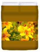 Summers Glory In Bloom By Earl's Photography Duvet Cover