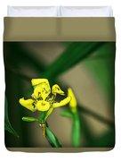 Yellow Flowers I Duvet Cover