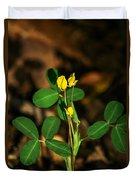 Yellow Flowers II Duvet Cover