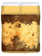 Yellow Flowers In Bloom Duvet Cover
