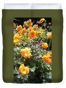 Yellow Flowers In May Duvet Cover