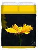 Yellow Flowers2 Duvet Cover