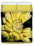 Yellow Gerbera Duvet Cover