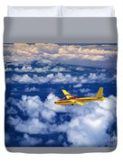Yellow Glider Duvet Cover