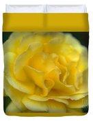 Yellow Golden Single Flower Duvet Cover