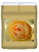 Yellow Graham Thomas Rose Duvet Cover by Jocelyn Friis