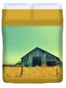 Yellow Grass Duvet Cover
