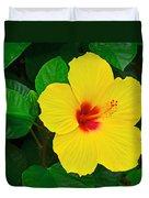 Yellow Hibiscus 3388 Duvet Cover