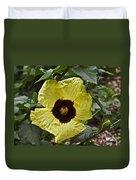 Yellow Hibiscus F134 Duvet Cover