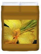 Yellow In The Morning Duvet Cover