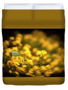 Yellow Island Duvet Cover