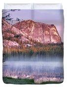 Yellow Jacket Lake Duvet Cover