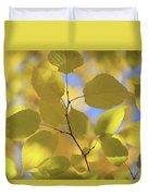 Yellow Leaves. Duvet Cover
