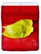 Yellow Leaves Duvet Cover