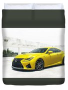 Yellow Lexus4 Duvet Cover