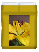 Yellow Lily 2 Duvet Cover
