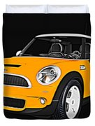 Yellow Mini  Duvet Cover