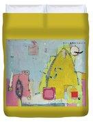 Yellow Mountain Duvet Cover