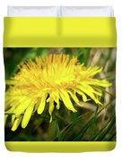 Yellow Mountain Flower's Petals Duvet Cover