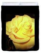 Yellow Rose For Friendship Duvet Cover
