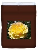 Yellow Rose Sunlit Summer Roses Flowers Art Prints Baslee Troutman Duvet Cover