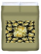 Yellow Roses 2 Duvet Cover