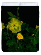 Yellow Roses Duvet Cover