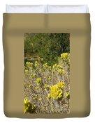 Yellow Sage Flower Duvet Cover