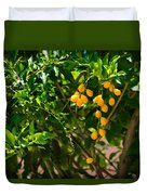 Yellow Seeds Duvet Cover