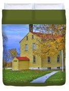 Yellow Shaker House 2 Duvet Cover