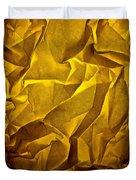 Yellow Sorrow Duvet Cover