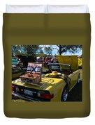 Yellow Tr6 Duvet Cover