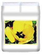 Yellow Tulip 2 Duvet Cover