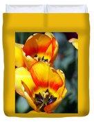 Yellow Tulip Duvet Cover