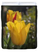 Yellow Tulip Duvet Cover