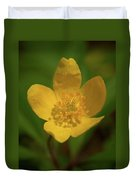 Yellow Wood Anemone 2 Duvet Cover