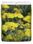 Yellow Yarrow Duvet Cover
